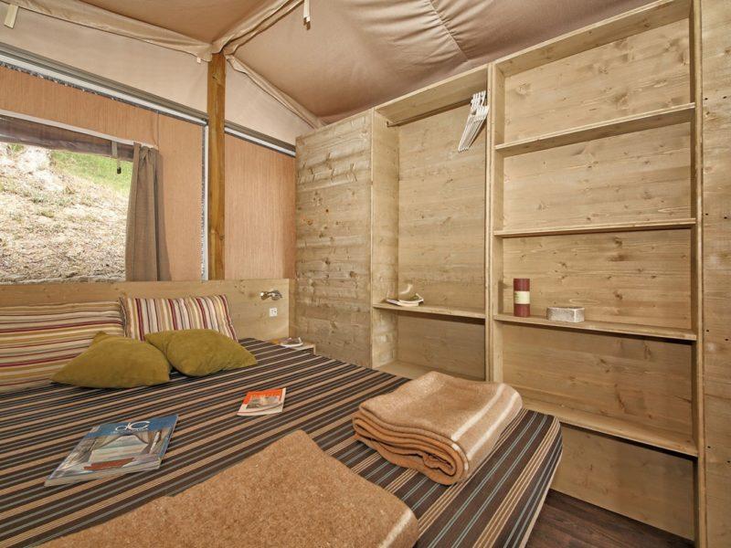 Selectcamp slaapkamer