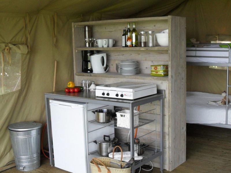 Tendi tent keuken