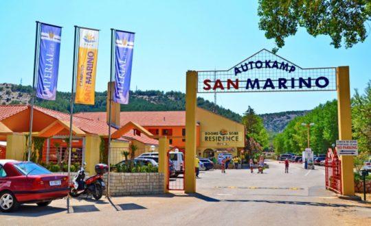 San Marino: een luxe camping aan de Adriatische kust!