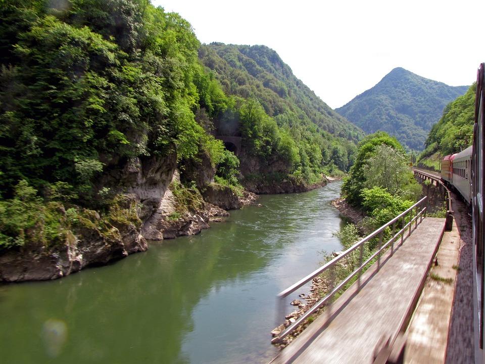 Treinreis naar Slovenië