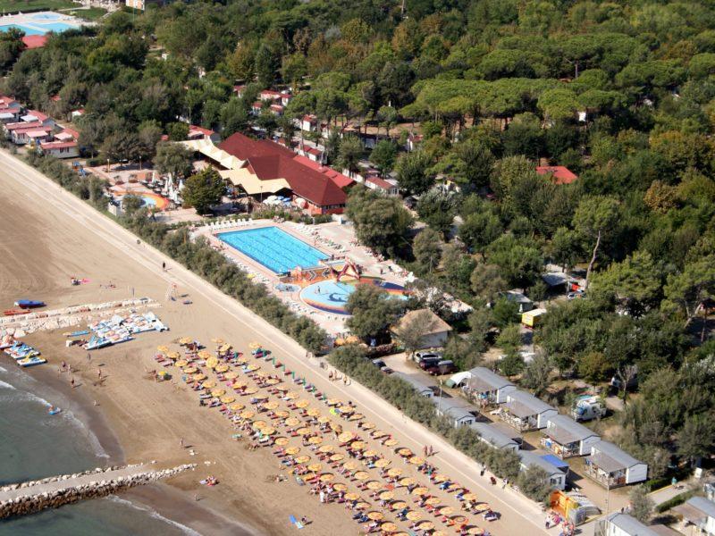 Villaggio San Francesco - Adriatico - overzicht camping