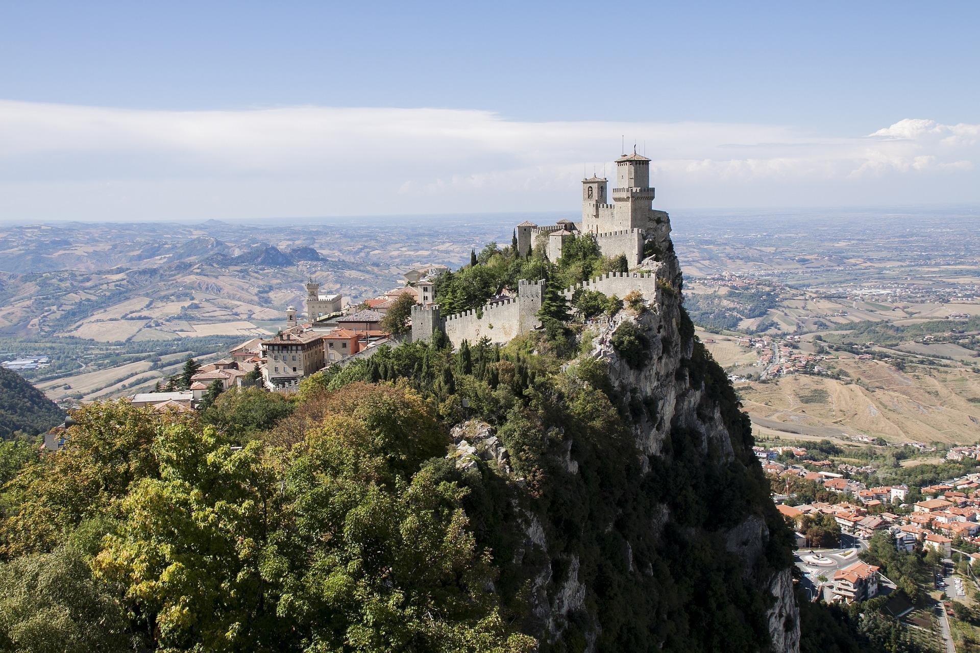 San Marino - mooiste plekjes aan de Adriatische kust