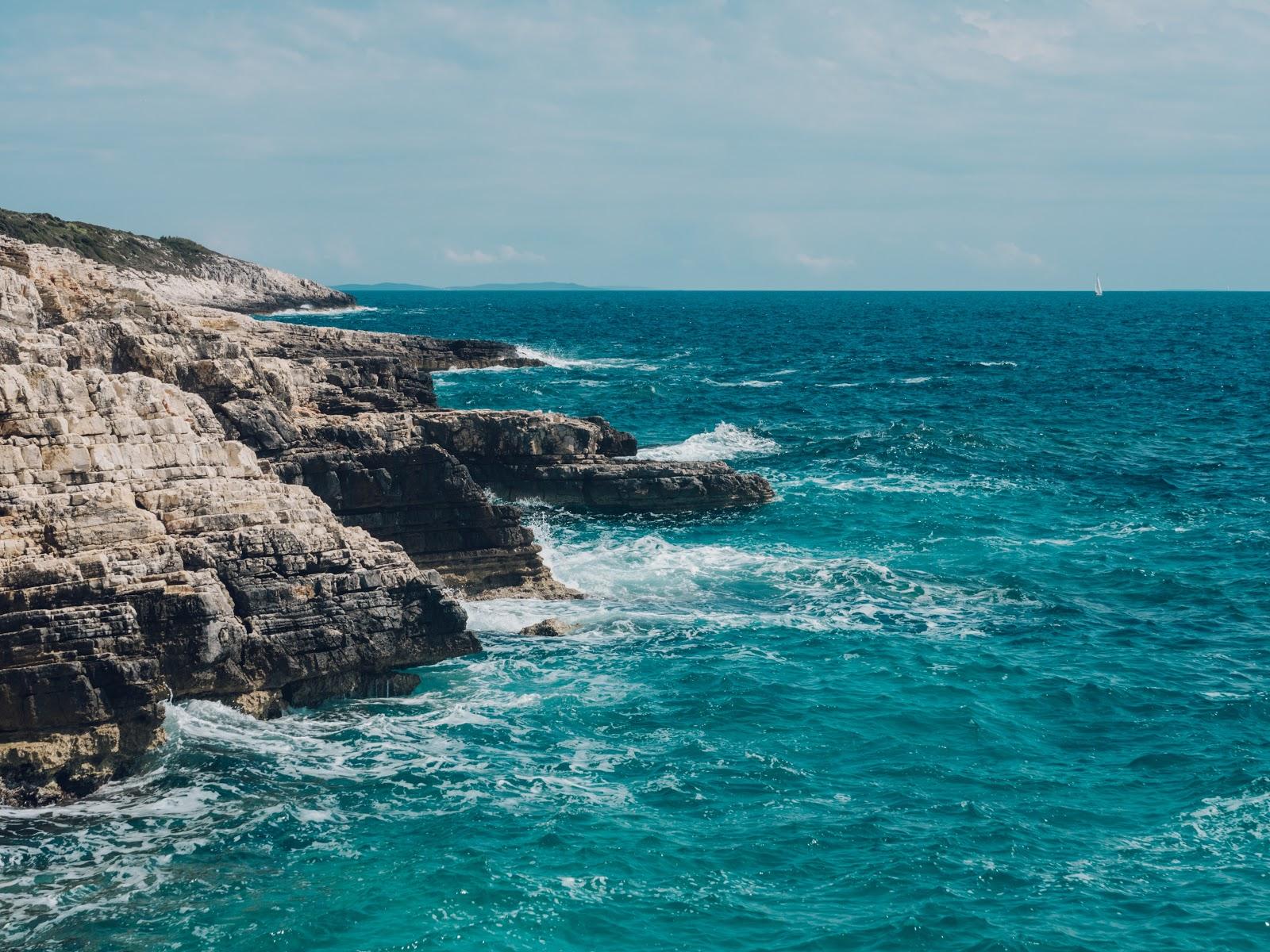 Boot huren in Istrië - strand