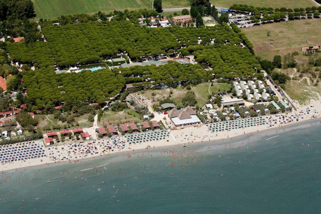 Camping Florenz vakantie aan zee