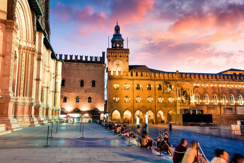 Bologna paleis plein