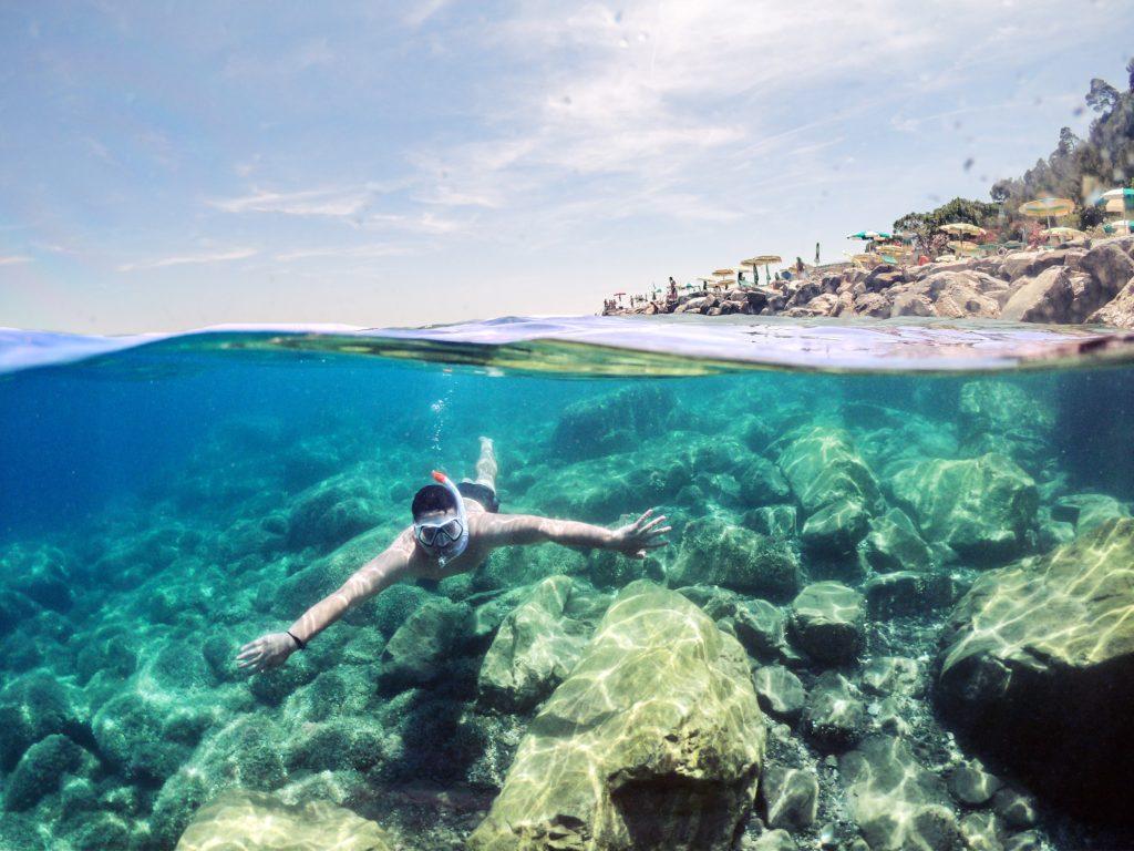 Snorkelen in Kroatië